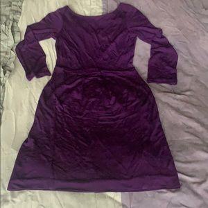 HALSTON HERITAGE 3/4-sleeve Dress